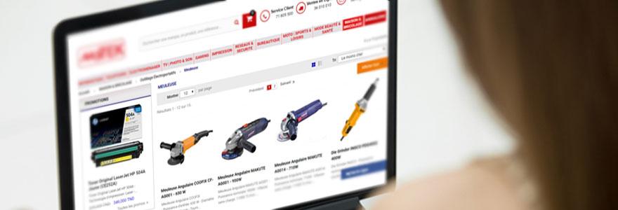 Achat de meuleuse en ligne