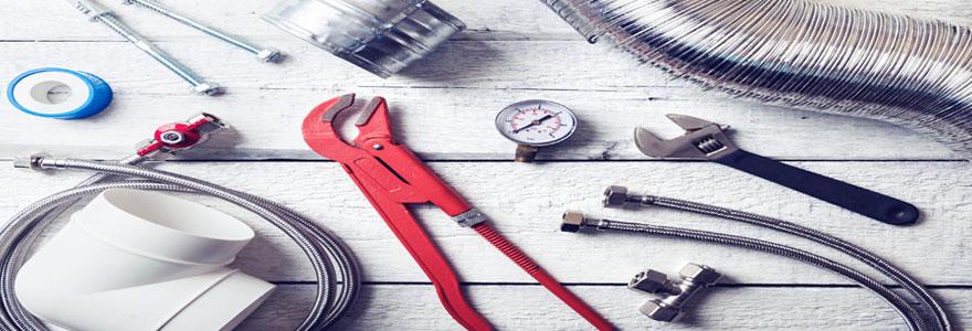 Travaux de plomberie : achat du matériel nécessaire