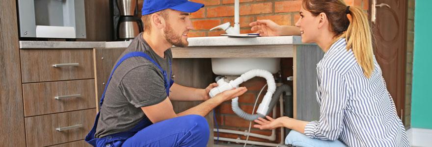 Dépannage et travaux de plomberie
