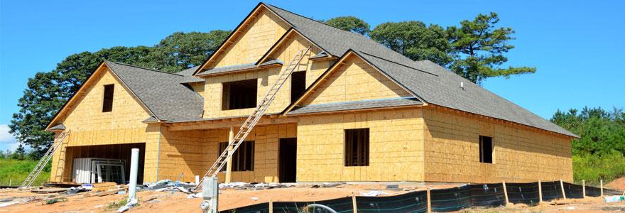 Maison en construction après un devis travaux