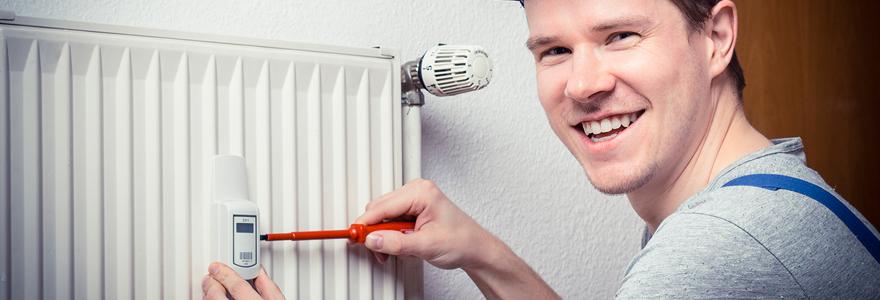 Travaux d'entretien de chauffage